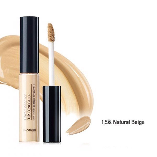 Che Khuyết Điểm The Saem Cover Perfection Tip Concealer 1.5